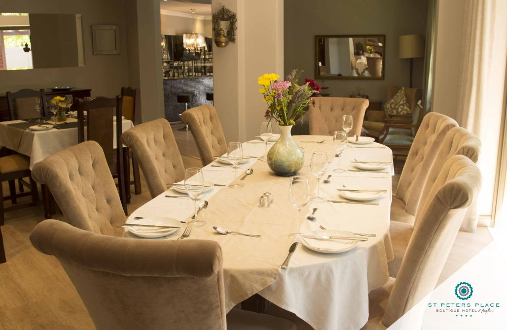 St Peters Place Boutique Hotel Restaurant